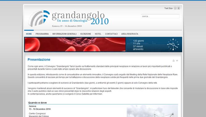 Grandangolo in Oncologia 2009