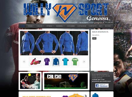 Sito Ecommerce Sport Genova